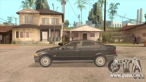 BMW 316i E36 für GTA San Andreas linke Ansicht