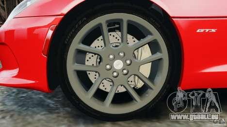 SRT Viper GTS 2013 pour GTA 4 est un côté