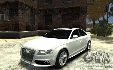 Audi S4 2010 v.1.0 pour GTA 4