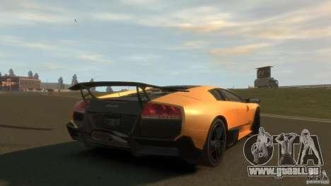 Lamborghini Murcielago VS LP 670 FINAL pour GTA 4 Vue arrière de la gauche