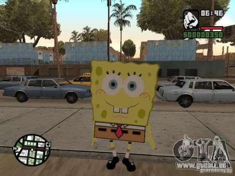 Sponge Bob pour GTA San Andreas