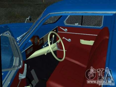 Moskvich 429 pour GTA San Andreas vue arrière