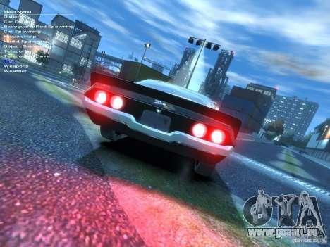 Chevrolet Camaro Z28 für GTA 4 hinten links Ansicht