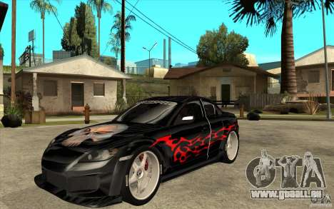 Mazda RX8 Underground Tuning pour GTA San Andreas
