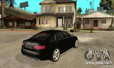 Audi RS6 2010 pour GTA San Andreas vue de droite
