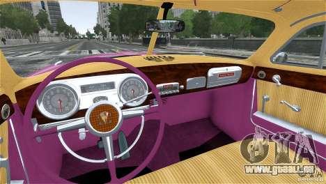 Hudson Hornet Coupe 1952 für GTA 4 Seitenansicht