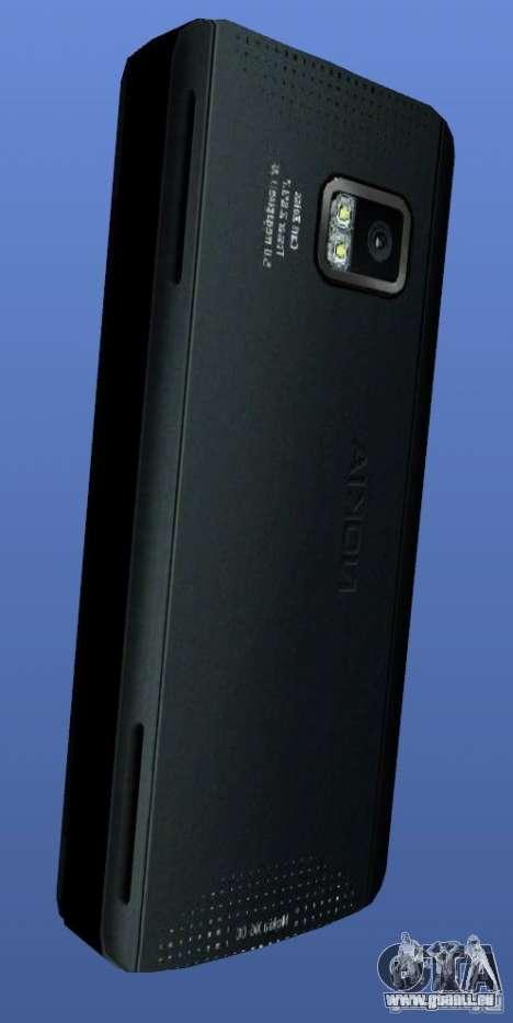 Téléphone mobile Nokia X 6 pour GTA 4 secondes d'écran