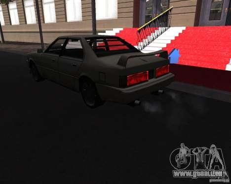 Sentinel XS 1992 pour GTA San Andreas laissé vue