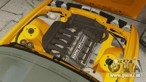 BMW M3 E30 v2.0 pour GTA 4 est une vue de l'intérieur