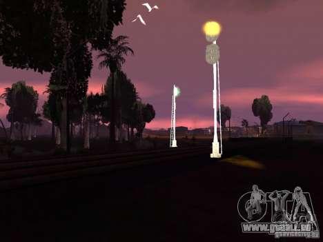 Feux de circulation ferroviaire 2 pour GTA San Andreas sixième écran