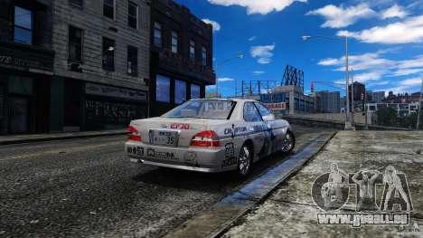 Nissan Laurel GC35 Itasha für GTA 4 linke Ansicht