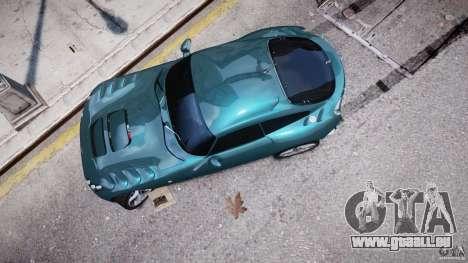 TVR Sagaris für GTA 4 Seitenansicht