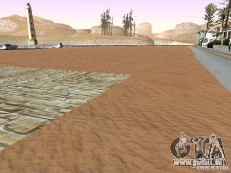 Nouvelle plage texture v1.0 pour GTA San Andreas cinquième écran