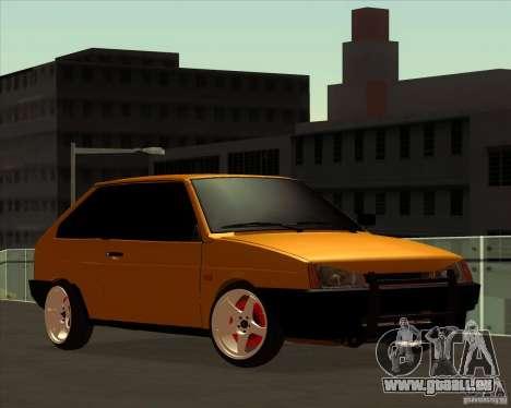 VAZ 2108 (Version mit weißen Scheiben) für GTA San Andreas