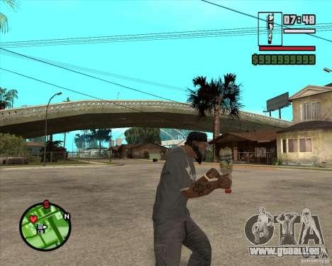 Lvivske Svitle pour GTA San Andreas troisième écran