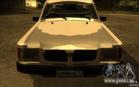 GAZ Wolga 311021 für GTA San Andreas rechten Ansicht