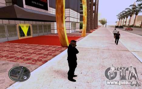 HTC Sensation pour GTA San Andreas troisième écran