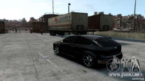 Ford Focus pour GTA 4 est un droit