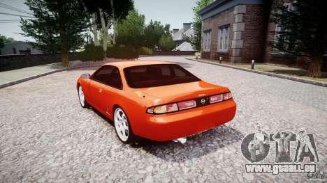 Nissan Silvia Ks 14 1994 v1.0 für GTA 4 Seitenansicht