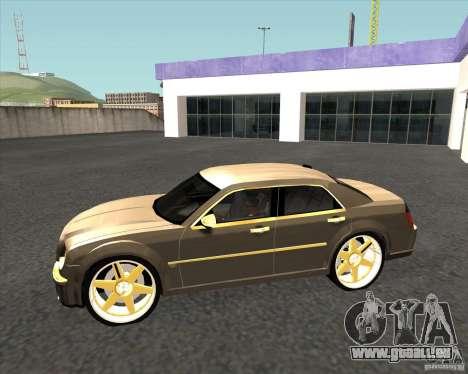 Chrysler 300C dub edition pour GTA San Andreas laissé vue