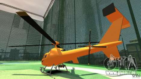 Helicopter From NFS Undercover pour GTA 4 est un droit