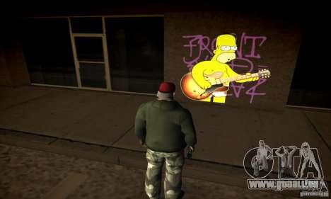Simpson Graffiti Pack v2 für GTA San Andreas her Screenshot