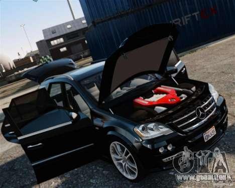 Mercedes-Benz ML Brabus 2009 für GTA 4 hinten links Ansicht