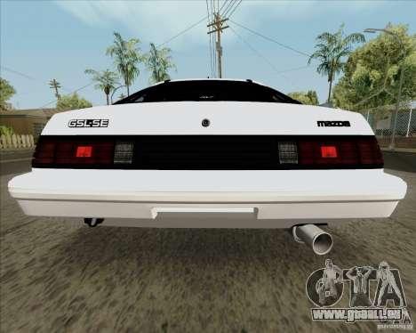 Mazda RX-7 FB Race für GTA San Andreas rechten Ansicht