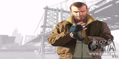 Écrans de démarrage de GTA IV v. 2.0 pour GTA San Andreas