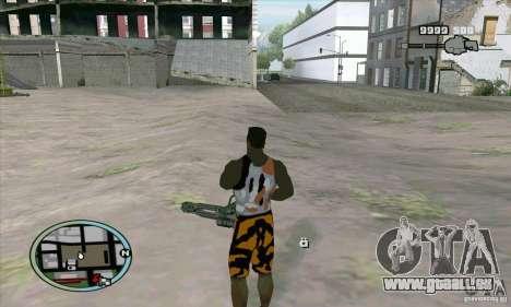Care Package from MW2 pour GTA San Andreas cinquième écran