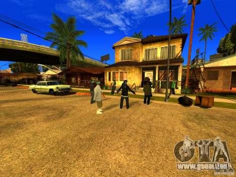 Party zone pour GTA San Andreas troisième écran