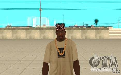 Bandana-superman für GTA San Andreas