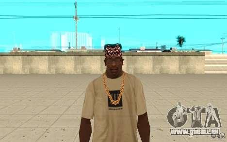 Superman bandana pour GTA San Andreas