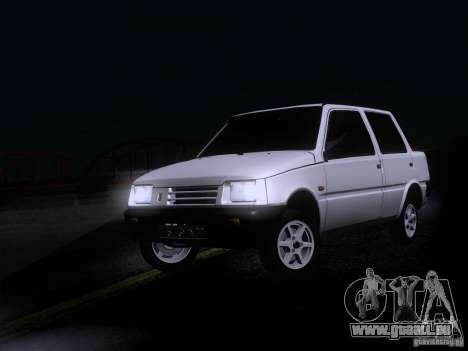 VAZ 1111 Oka Sedan pour GTA San Andreas sur la vue arrière gauche