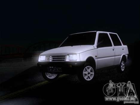 VAZ-1111-Oka-Limousine für GTA San Andreas zurück linke Ansicht