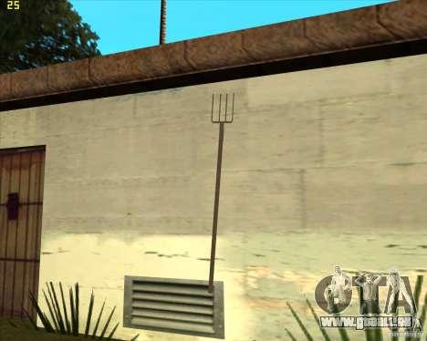 Mistgabel für GTA San Andreas zweiten Screenshot