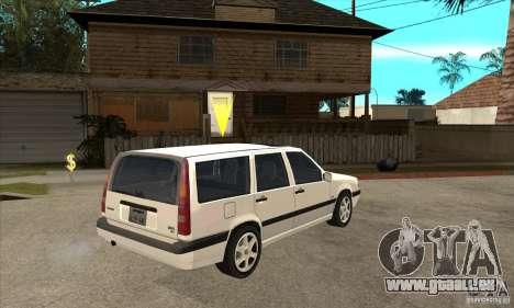 Volvo 850 GLT für GTA San Andreas rechten Ansicht