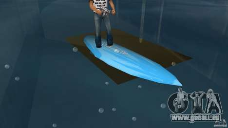 Surfboard 3 für GTA Vice City linke Ansicht