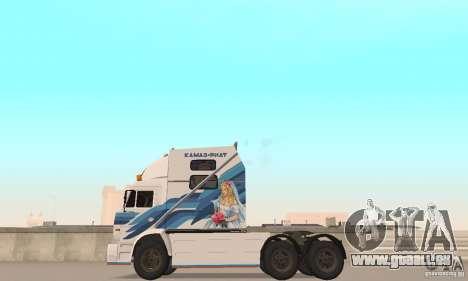 KAMAZ-54112 Secrétariat pour GTA San Andreas vue de droite