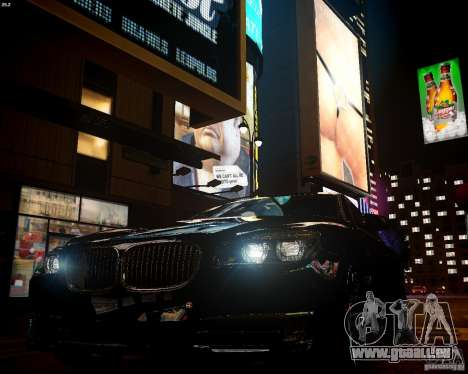 BMW 750Li 2013 pour GTA 4 Vue arrière