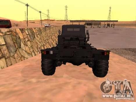 KrAZ 260V pour GTA San Andreas vue de droite