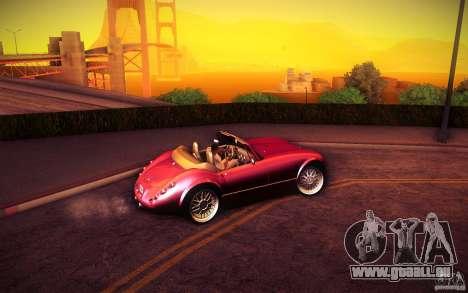 Wiesmann MF3 Roadster für GTA San Andreas Rückansicht