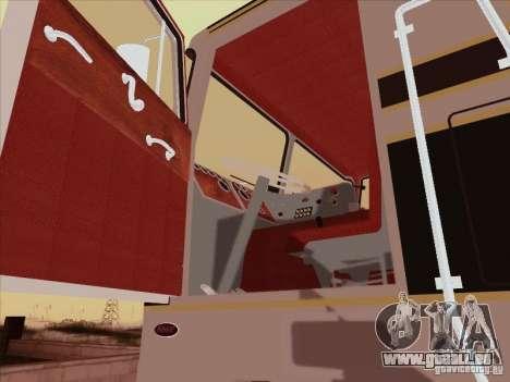 Peterbilt 352 pour GTA San Andreas vue intérieure