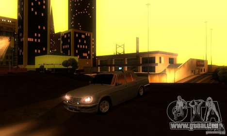 GAZ Volga 31105 Procureur pour GTA San Andreas vue de dessus