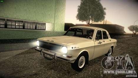 Volga GAZ-24 Taxi 01 pour GTA San Andreas
