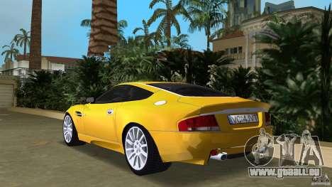 Aston Martin V12 Vanquish 6.0 i V12 48V v2.0 für GTA Vice City zurück linke Ansicht