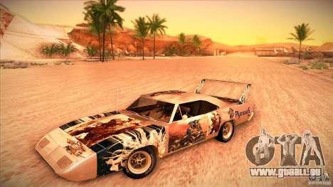 Plymouth Roadrunner Superbird Custom pour GTA San Andreas vue de côté