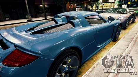 Porsche Carrera GT für GTA 4 Rückansicht