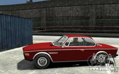 BMW 3.0 CSL E9 1971 pour GTA 4 est une gauche
