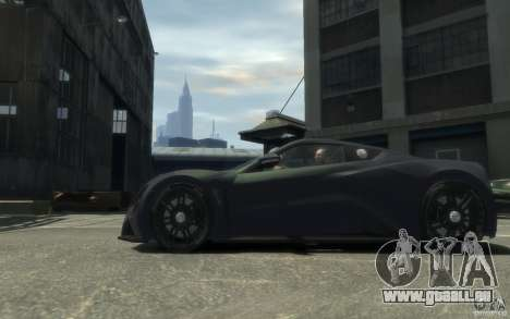 Zenvo ST1 2010 v2.0 für GTA 4 hinten links Ansicht
